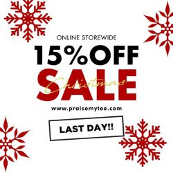 [Praise] Don't miss out the last day of our Christmas Sale!