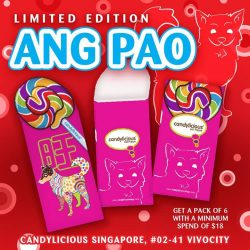[Candylicious] Candylicious limited edition Chinese New Year is now available!