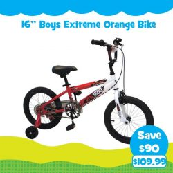 [Babies'R'Us] Check out some of the bicycles on offer in our OUTDOOR FUN catalogue!