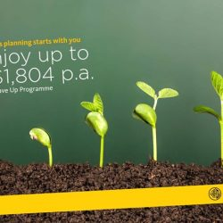 [Maybank ATM] Plan your savings with eligible Etiqa insurance savings plans and be on your way to earning up to S$1,