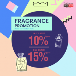 [COSMETICS & PERFUMES BY SHILLA] ShillaShoppingHacks It's fragrance galore at Shilla!