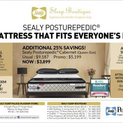 [Sealy Singapore] Sealy Posturepedic - The Mattress That Fits Everyone's Needs.
