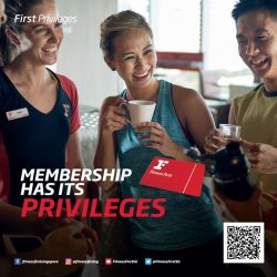 [Fitness First] FIRST PRIVILEGES: A membership with Fitness First comes with great privileges, both in and outside of the clubs!
