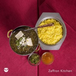 [foodpanda] We heard you love Indian food, so here's free delivery on all orders above $20 from Zaffron Kitchen!