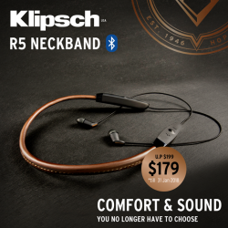[Newstead Technologies] If you're looking for premium home stereo and earpiece, make sure you don't miss these offers from Klipsch!