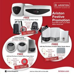 [Ariston] Due to the overwhelming response to this round of Festive Promotion, all free gifts have been fully redeemed!