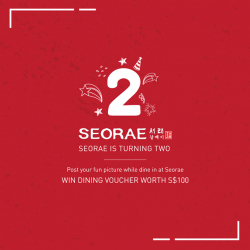 [SEORAE] You still have a chance to jour our photo Contest on Instagram and Win Dining Voucher worth S$100!