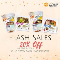 [The Soup Spoon] Who's ready for a flash sale?