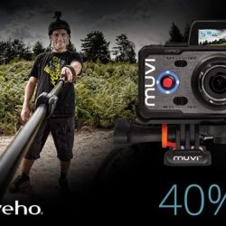[Veho] Using code, VEHO40 you can get 40% off of our Veho K-Series Handsfree Cameras 📷 Capture your most action packed
