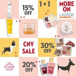 [Etude House Singapore] Get ready for CNY with these essentials on LAZADA!