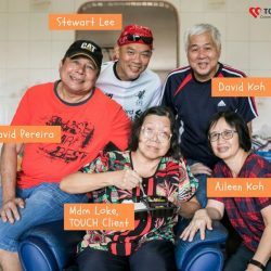 [TOUCH Community Service Centre] David and Aileen Koh love volunteering as a couple.