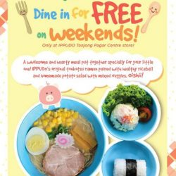 [Ippudo Express] KIDS DINE FOR FREE AT TPC!