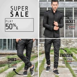 [Urban Studio] Get the Look with the Unbelievable Price  as our SUPER SALE IS ON Flat 50% & Flat 30% Off on Everything