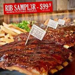 [Morganfield's] Kick-start 2018 with a feast!