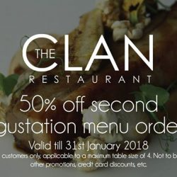 [The Clan Restaurant] 3 more weeks to enjoy this awesome promotion!
