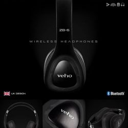 [Veho] Use code VEHO50 for 50% off of our Veho ZB-6 On-Ear Wireless Headphones  Our ZB-6 Headphones contain