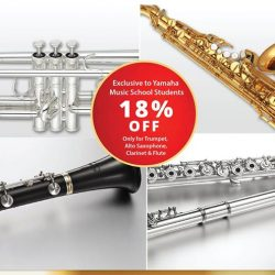 [YAMAHA MUSIC SQUARE] Enjoy an exclusive discount for Yamaha Music School Students.