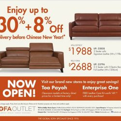 [Sofa Outlet] Looking for sofas to be delivered before Chinese New Year?