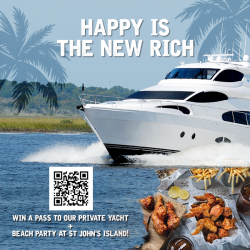[4 Fingers Crispy Chicken] WIN A PASS TO A PRIVATE YACHT + BEACH PARTY!