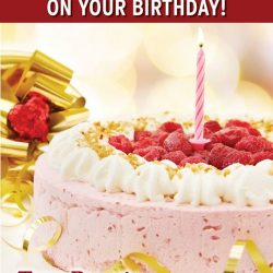 [Tony Roma's] Come celebrate your birthday at Tony Roma's and enjoy a 20% Discount.