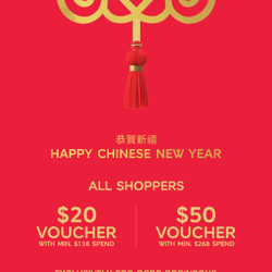[Marks & Spencer] Kickstart your CNY shopping with M&S!