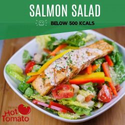 [Hot Tomato] High in vitamin D and omega-3 fatty acids, salmon is a nutritious source of protein which can leave you