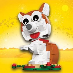 [VivoCity] LEGO® is ushering in the Year of the Dog by giving away this adorable LEGO® Dog with any purchase of $