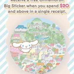 [Isetan] Head down to Sanrio Gift Gate at Isetan stores islandwide to check out the January Special Buys available now!