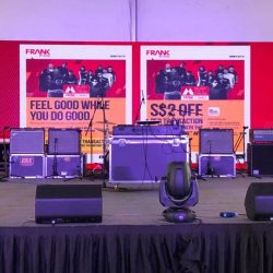 [FRANK by OCBC] The stage is set and we're ready to rock for a cause.