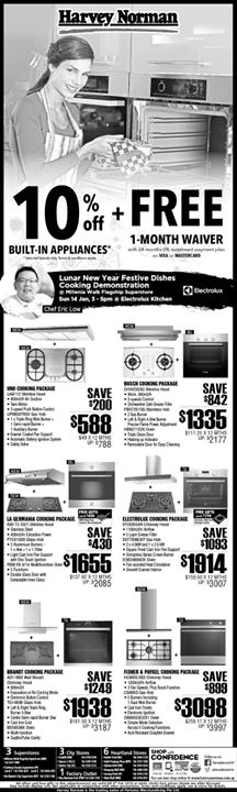 [Harvey Norman] Come and 'huat' with us this weekend at HarveyNormanSG Millenia Walk Flagship Superstore!