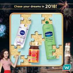 [Watsons Singapore] Chase those dreams in 2018!