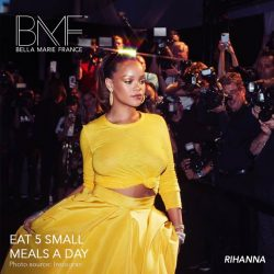 [Marie France Bodyline] We reveal thesecret to Rihanna's fabulous figure: The Five Factor Diet.