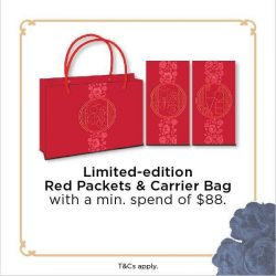 [Orchard Central] Have you collected our Limited-edition Red Packets and Carrier Bag?