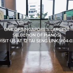 [Aureus Academy] Come visit one of Singapore's largest Piano Warehouses and check out our Back-to-School promotion for our instruments.