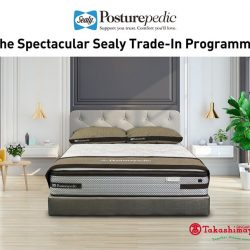 [Sealy Singapore] Enjoy $300 savings for purchase of any Sealy Posturepedic models or $500 savings for the Palatial Crest models when you