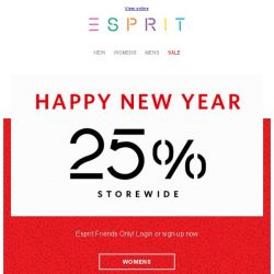 [Esprit] Refresh your wardrobe with new looks this Lunar New Year!