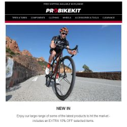 [probikekit] Extra 10% off Under Armour | Extra 10% off Tyres | Extra 10% off new in products and more...