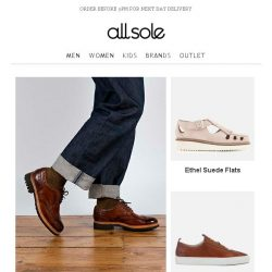 [Allsole] Up your shoe game with Grenson
