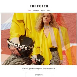 [Farfetch] Fendi: Hundreds of new-season pieces just in
