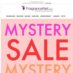 [FragranceNet] 🙊 Oops! We may have dropped an offer inside your inbox—can you check?