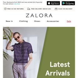 [Zalora] In the mood for NEW