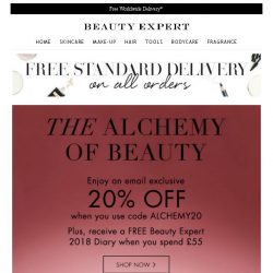 [Beauty Expert] Last Chance | Save 20% Inside + Free Gift
