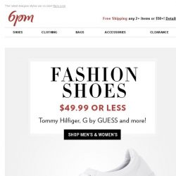 [6pm] WOW! You won't believe the stylish shoes and coats on sale!