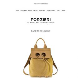 [Forzieri] Spring 18 Must Have Bags