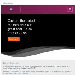 [Qatar] Capture the perfect moment. Fares starting from SGD 840.