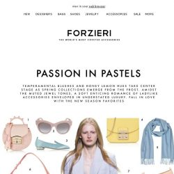 [Forzieri] Valentine's Most Wanted Accessories