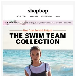 [Shopbop] Solid & Striped, starring Lily Aldridge, Hailey Clauson and more!