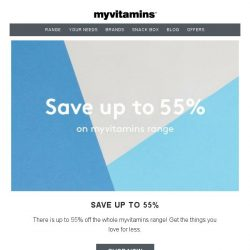 [MyVitamins] Save up to 55% | The secret to weight loss