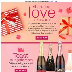 [Fairprice] Surprise your best friends or loved one with a gift from our Valentine's Day selection!