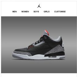 [Nike] Nike.com Early Access: Jordan 3